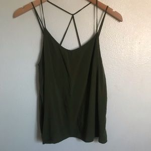 Forest Green Strappy Tank